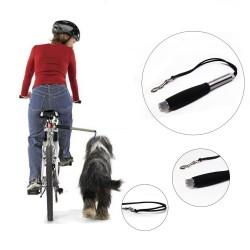 Set cu lesa, suport de bicicleta pentru caine